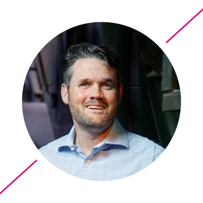 Mike Vallis, Visual Director of New Brands at Merlin Entertainment Group
