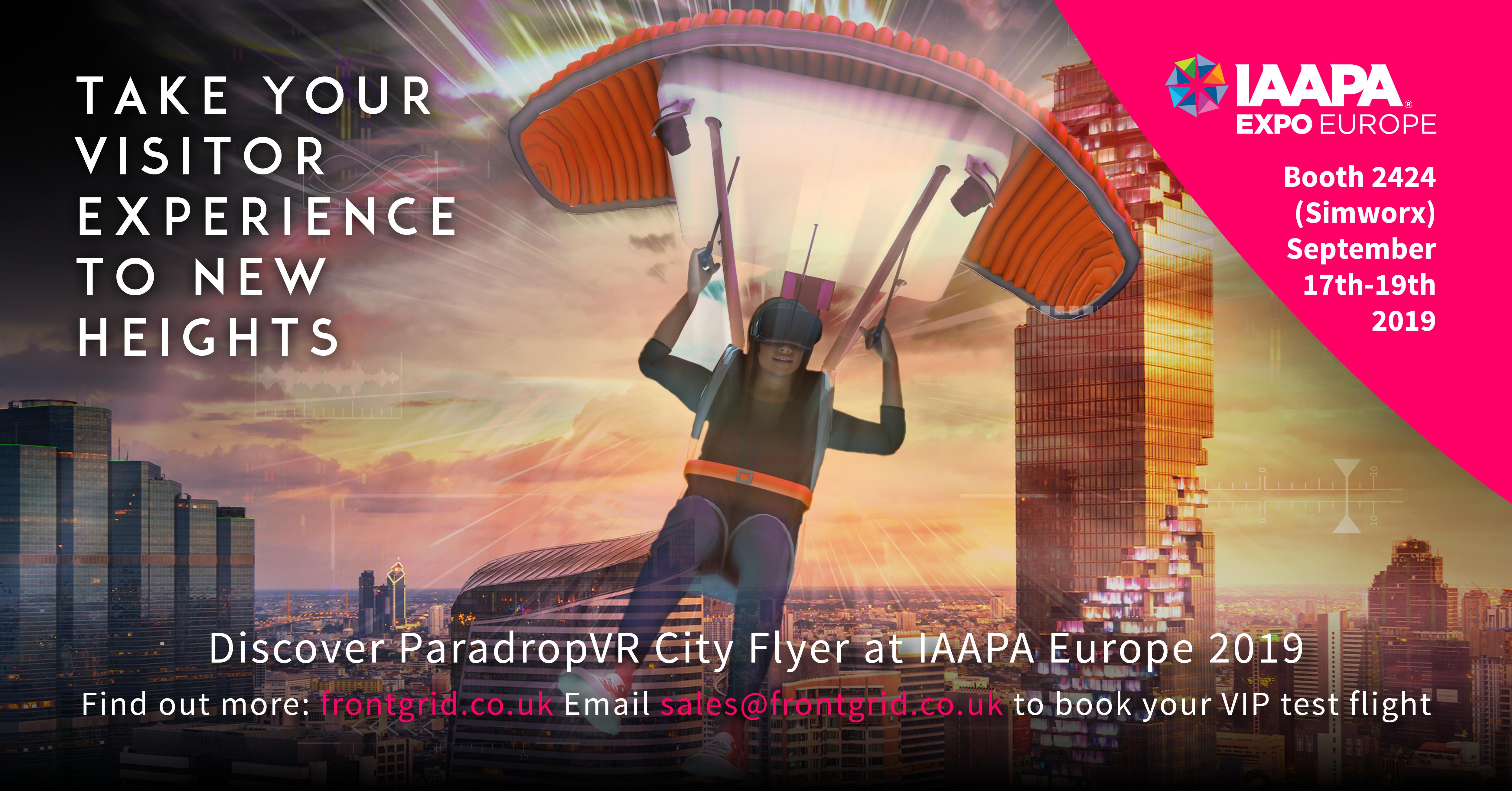 ParadropVR LinkedIn Graphics CITY FLYER